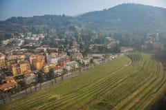 Vigne di Brescia Fotografie Stock