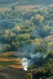 Vigne di Montepulciano fotografia stock