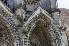 Vignes abadía, Soissons, Francia del DES de Jean del santo Fotografía de archivo