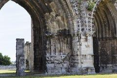 Vignes abadía, Soissons, Francia del DES de Jean del santo Imagen de archivo libre de regalías
