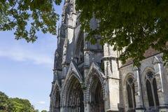 Vignes abadía, Soissons, Francia del DES de Jean del santo Fotos de archivo libres de regalías