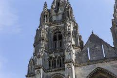 Vignes abadía, Soissons, Francia del DES de Jean del santo Foto de archivo libre de regalías
