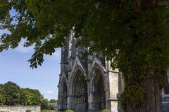 Vignes abadía, Soissons, Francia del DES de Jean del santo Fotos de archivo