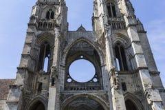 Vignes abadía, Soissons, Francia del DES de Jean del santo Imágenes de archivo libres de regalías
