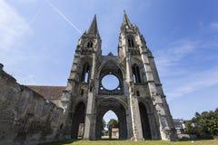 Vignes abadía, Soissons, Francia del DES de Jean del santo Imagenes de archivo