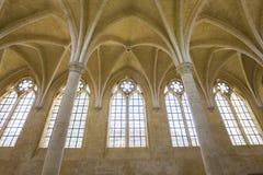 Vignes abadía, Soissons, Francia del DES de Jean del santo Fotografía de archivo libre de regalías