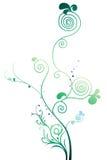 Vignes et arbre Images libres de droits