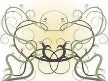 Vignes symétriques illustration libre de droits