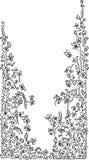 Vignette. (fun black-and-white illustration stock illustration