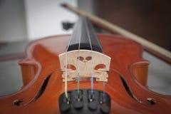 Vignette Background -  Violin in Vintage style. - (Selective Focu Royalty Free Stock Image
