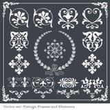 Vignette border vintage Royalty Free Stock Images