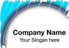 Vignette de logo Images stock