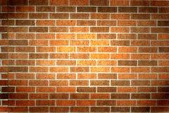Vignette de mur de briques Photographie stock
