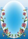 Vignette flower1 Stockfotografie