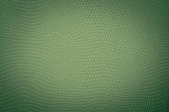Dark Green Snake Skin Texture. Vignette green texture of a snake skin imitation usefull as a fashion style background or gift card stock or cardboard Stock Images