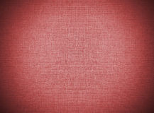 Vignette Red Abstract Recycle Paper Pattern on Lace Fabric Background Texture, Vintage Style Royalty Free Stock Photos