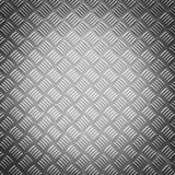 Vignette style diamond steel plate texture Royalty Free Stock Image