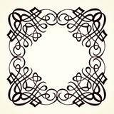 Vignette. Vector drawing Royalty Free Stock Photos