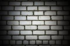 Vignette white brick wall Royalty Free Stock Photos