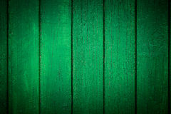 Vignetted Green Wooden Background stock image
