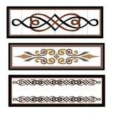 Vignettes mosaic Stock Images