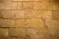 Vignettes Wall. Old wall in Zuweila's Gate in Cairo, Egypt Stock Photo