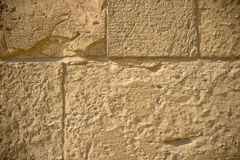 Vignettes Wall. Old wall in Zuweila's Gate in Cairo, Egypt Royalty Free Stock Photography