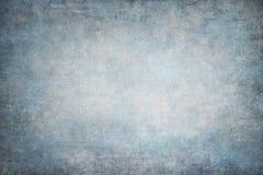 Vignetting błękitni ręcznie malowany tła Obrazy Stock