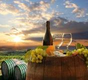 Vignoble dans le chianti, Toscane photos libres de droits