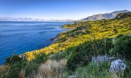 Vignoble en Sicile, Italie Image libre de droits