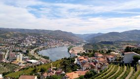 Vignobles de Douro Photos stock