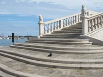 Vigo Bridge in Chioggia Royalty Free Stock Images