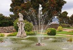 Vigo Castle Botanical Gardens Royalty Free Stock Image