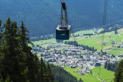 Vigo di Fassa, Trentino-Alto Adige Stock Images