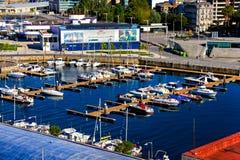 Vigo harbor Royalty Free Stock Image