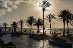 Vigo in northwest Spain. Royalty Free Stock Image