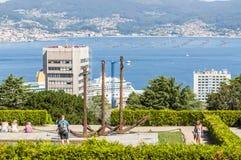 Vigo-Park Lizenzfreie Stockbilder