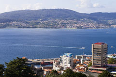 Vigo ria. Royalty Free Stock Images