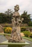 Vigo slottbotanisk trädgård Arkivfoton