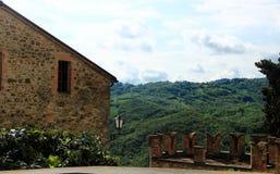 Vigoleno, ένα μεσαιωνικό χωριό στη βόρεια Ιταλία Στοκ φωτογραφίες με δικαίωμα ελεύθερης χρήσης