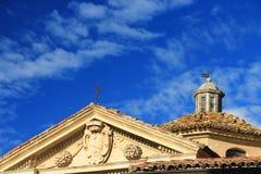 Vigoleno Castle στη βόρεια Ιταλία στοκ εικόνες