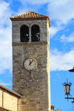 Vigoleno Castle στη βόρεια Ιταλία στοκ εικόνα με δικαίωμα ελεύθερης χρήσης