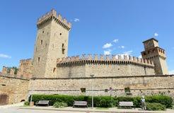 Vigoleno Castle, Italy Royalty Free Stock Photo