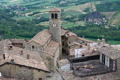 Vigoleno. Emilia-Romagna. Italy. Royalty Free Stock Images