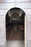 Vigolo Marchese Piacenza, Ιταλία: μεσαιωνική εκκλησία στοκ φωτογραφίες