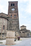 Vigolo Marchese Piacenza, Italy: medieval church Royalty Free Stock Image