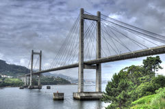 Vigo´s Bridge Royalty Free Stock Photo