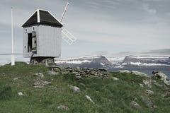 Vigur island, Iceland Royalty Free Stock Image
