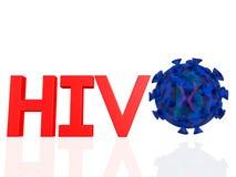 VIH Imagen de archivo libre de regalías