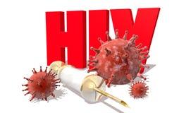 VIH Fotografia de Stock